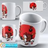 "Чашка ""Ghibli art work"" - Forest Spirits"