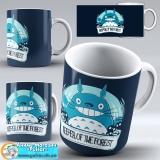 "Чашка ""Ghibli art work"" - Totoro and Happines"