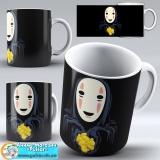 "Чашка ""Ghibli art work"" - No Face tape 4"
