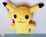 "М`яка іграшка ""Amigurumi"" ""Pikachu 3.0"""