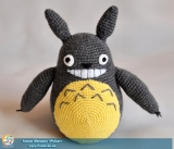 "М`яка іграшка Amigurumi ""Totoro: Forest Spirits"" (Ручна Робота) ( комплект 3 шт)"
