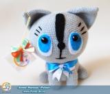 "М`яка іграшка ""Amigurumi"" ""Амігурумі котик"""