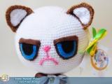 "М`яка іграшка ""Amigurumi"" ""Grumpy Cat"""