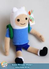 "М`яка іграшка ""Amigurumi"" ""Adventure time - Finn"""