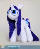 "М`яка іграшка ""Amigurumi"" My Little Pony Friendship is Magic - Rarity"