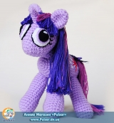 "М`яка іграшка ""Amigurumi"" My Little Pony Friendship is Magic - Twilight Sparkle"