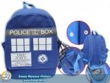 """Рюкзак """"Doctor Who"""" модель tardis"""