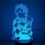 Диодный Акриловый светильник Demon Slayer  7 цветов tape 1