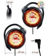 Навушники Mortal Kombat модель Fire emblem (Panasonic)