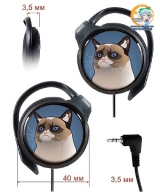 Навушники Grumpy Cat модель Tartar (Panasonic)
