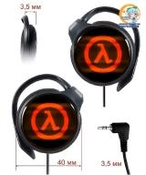 Навушники Half-Life модель Neon Red/blue (Panasonic)
