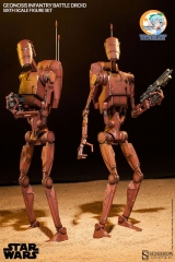 Militaries Of Star Wars - Geonosis Infantry Battle Droid (Set Of 2)