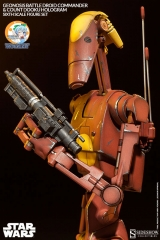 Militaries Of Star Wars - Geonosis Infantry Battle Droid Commander