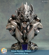 Оригінальна Sci-Fi фігурка Premium Bust - Transformers: Revenge of the Fallen: Megatron Polystone Bust Final Battle ver.