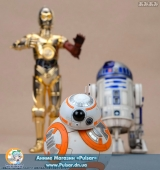 Оригинальная Sci-Fi фигурка STAR WARS R2-D2 & C-3PO with BB-8 ARTFX+ STATUE
