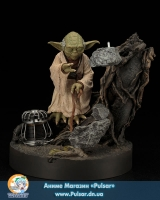 Оригинальная Sci-Fi ARTFX - Star Wars: Yoda The Empire Strikes Back Edition (Repainted Ver.) 1/7 Easy Assembly Kit