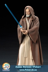Оригинальная Sci-Fi фигурка ARTFX+ Star Wars: Episode IV A New Hope - Obi-Wan Kenobi 1/10 Easy Assembly Kit