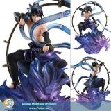 Оригинальная аниме фигурка G.E.M. Series remix - NARUTO Shippuden: Sasuke Uchiha Raijin Complete Figure