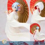 Оригинальная аниме фигурка Re:ZERO -Starting Life in Another World- Rem -Shiromuku- 1/7 Complete Figure