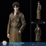 Оригинальная аниме фигурка Attack on Titan Levi coat style Complete Figure