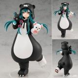 Оригинальная аниме фигурка «POP UP PARADE Kuma Kuma Kuma Bear Yuna Complete Figure»