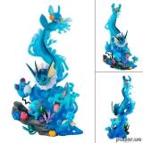 Оригинальная аниме фигурка «G.E.M. EX Series Pokemon Water Type DIVE TO BLUE Complete Figure»