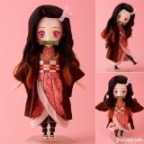 Шарнирная кукла Harmonia humming Demon Slayer: Kimetsu no Yaiba Nezuko Kamado Complete Doll