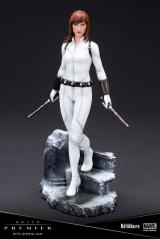Оригинальная sci-fi фигурка «ARTFX PREMIER MARVEL UNIVERSE Black Widow White Costume Edition 1/10 Simple Assembly Kit»