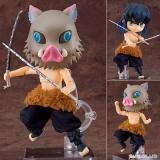 Оригінальна аніме фігурка «Nendoroid Doll Demon Slayer: Kimetsu no Yaiba Inosuke Hashibira»