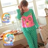 Летняя раздельная пижамка для девушек Pulsar Neko Smile