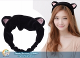 тканинний обруч для волосся у вигляді котячих вушок