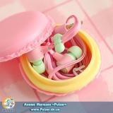 навушники Sibyl з коробочкою у вигляді Macarons