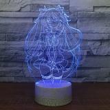 Диодный Акриловый светильник «Hatsume Miku» tape 2