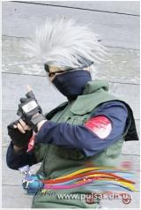 Косплей Парик Hatake Kakashi (Какаши)