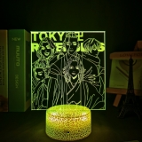 Діодний Акриловий світильник «Tokyo Revengers» [«Токійські месники»] tape 2