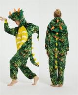 "Кигуруми (Пижама в стиле аниме) ""Green Triceratops"""