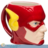 Фирменная скульптурная чашка DC Comics Coffee Mugs - Sculpted Flash
