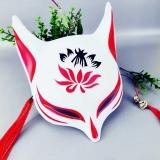 "Маска ""Japanese Style Anime Fox Mask With Tassels"""