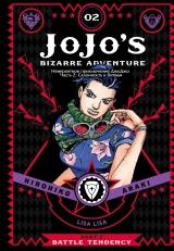 Манга Невероятные Приключения ДжоДжо Часть 2: Склонность к битвам том 2 / JoJo's Bizarre Adventure Part 2: Battle Tendency