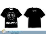 Футболка K-POP BTS Bulletproof Boy Scouts IX