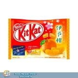 """Японські батончики """"KitKat"""" зі смаком мандарина. 12 штук"""