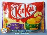"""Шоколадний батончик """"Kitkat"""" зі смаком гарбузового пудингу"""" (Японія)"""