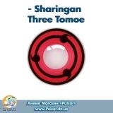 Контактные линзы  Sharingan Three Tomoe