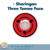 Контактные линзы  Sharingan Three Tomoe Faze