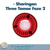Контактные линзы  Sharingan Three Tomoe Faze 2