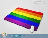 """Великий килимок для миші А3 (297mm x 420mm) - """"LGBT"""" [ЛГБТ]"""