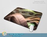 Великий килимок для міші А3 (297mm x 420mm) - «Mandalorian - Yoda Child» tape 1