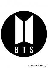 """Пластиковый  cтикер """"BTS"""" tape 3"""