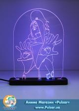 Диодный Акриловый светильник  Naruto - Deidara tape 1