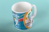 """Подарункова чашка з логотипом аніме магазину """"Pulsar"""" . В подарунок для покупок від 1500 грн"""